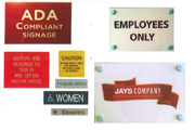 Name Badges, Name Plates & Signs
